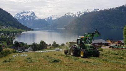 Traktor utsikt